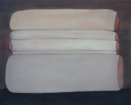 sans titre, 2014, acrylique sur toile, 100x80cm