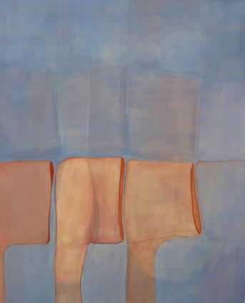 sans titre, 2014, acrylique sur toile, 160x130cm