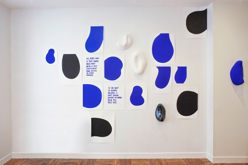 Mais alors dit Alice, si le monde n'a absolument aucun sens, qui nous empêche d'en inventer un ? , Galerie Simple, Paris, 2015
