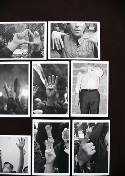 Marianne Mispelaëre - Silent Slogan - 2016 - en cours Cartes postales, capture d'écran, texte, impression offset, 10,5 x 14,8 cm chaque