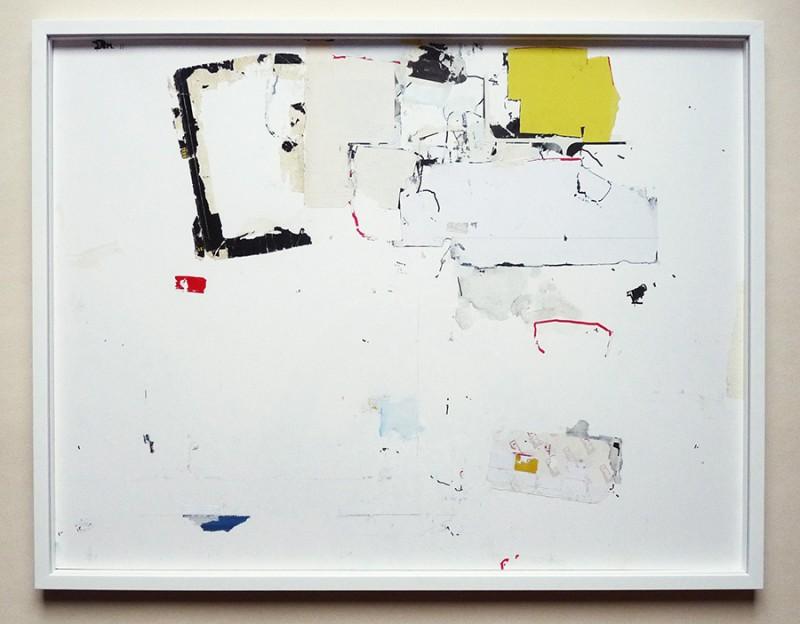"""""""Sans-titre"""" - Technique mixte sur papier - 65 x 50 cm - 2018"""
